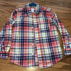 Boys Carter Button Down